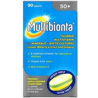 Multibionta 50+ Tablets - 90 Tablets