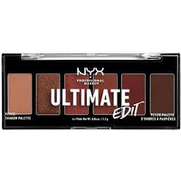 NYX Professional Makeup Ultimate Edit Petite Eyeshadow Palette - Warm Neutrals