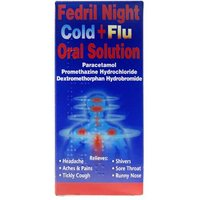 Fedril Night Cold + Flu Oral Solution 200ml